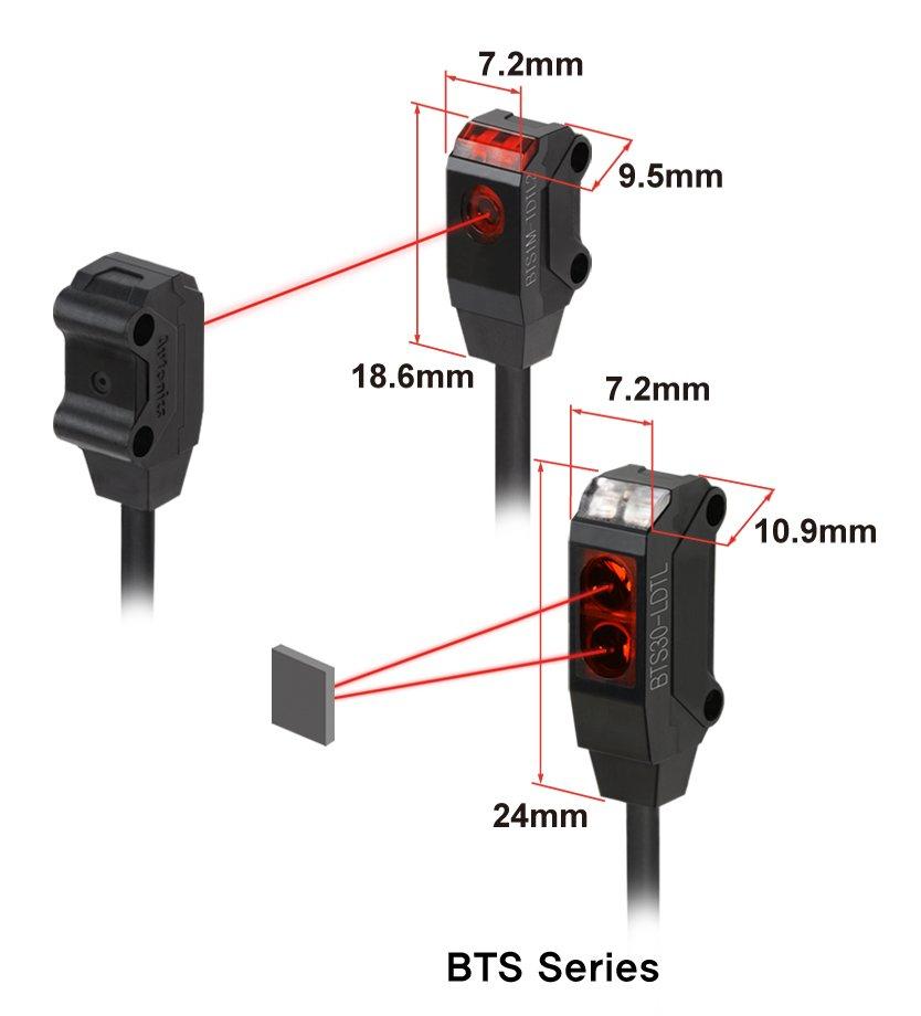 BTS czujniki fotoelektryczne